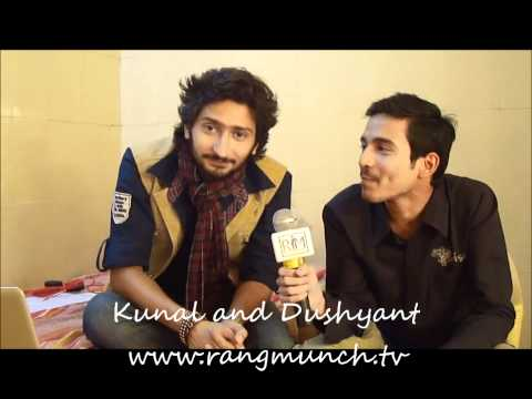 Kunal and Dushyant on Rangmunch.TV