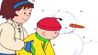 Kajtus po polsku | Kajtus i Bałwan | Bajki dla dzieci | Animacja kreskówka | Caillou Polish