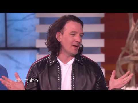 *NSYNC on Ellen - Chris Kirkpatrick Hears Lies