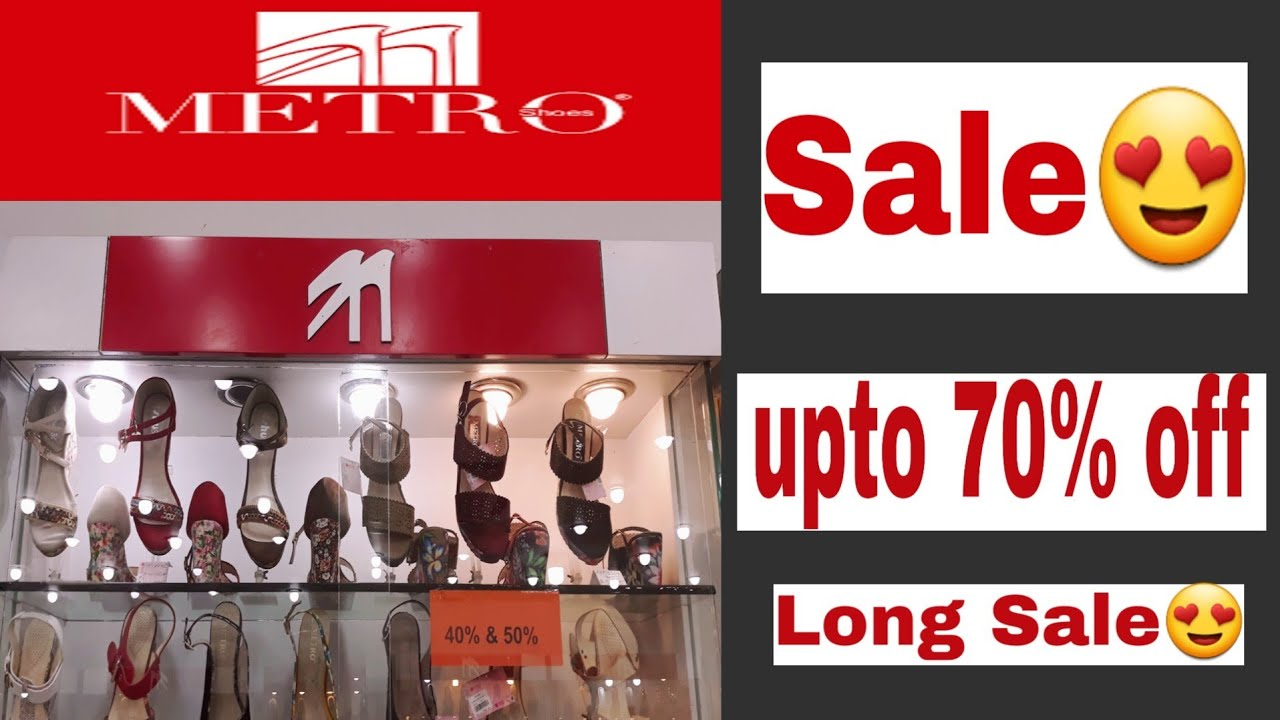Metro Shoes Sale upto 70%off 2019