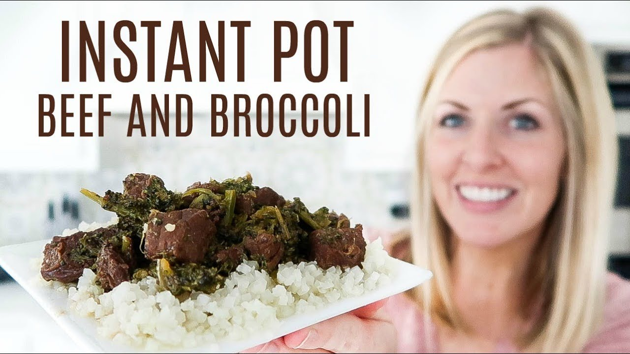 Easy Instant Pot Beef And Broccoli Recipe Youtube