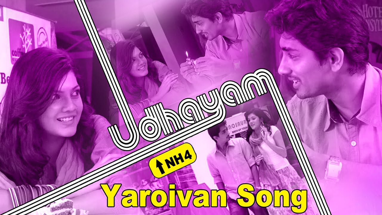 Yaaro Ivan Video Song Promo | Udhayam NH4 Tamil Movie | Siddharth | GV  Prakash Kumar