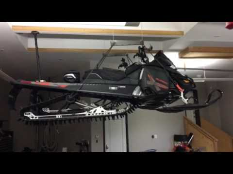 The Perfect Snowmobile Storage Solution Youtube