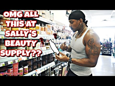 OMG ALL THIS AT SALLY'S BEAUTY SUPPLY!!??