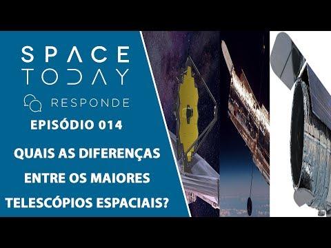 Qual a Diferença Entre o Hubble, o James Webb e o WFIRST? - Space Today Responde Ep.014