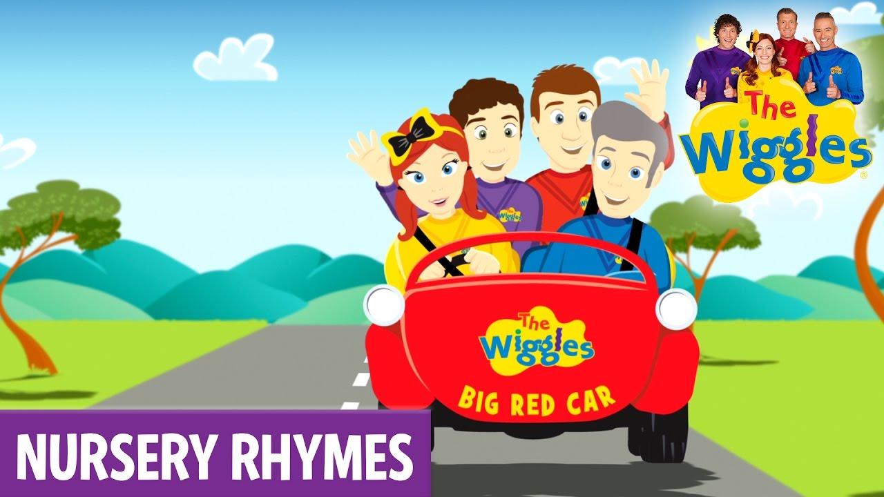 The Wiggles Nursery Rhymes - Toot Toot, Chugga Chugga, Big Red Car