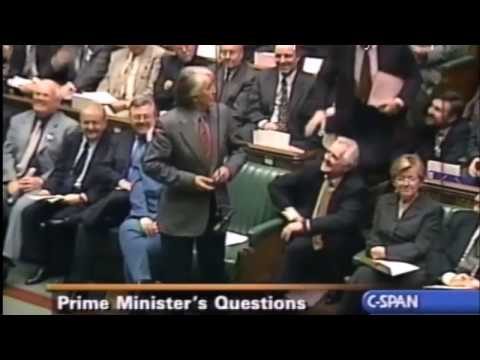 Dennis Skinner, 14.11.2001 PMQS on Tories and how many jobs they do outside of the HOC