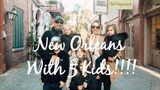 Free Camping with 5 Kids In New Orleans, Louisiana!