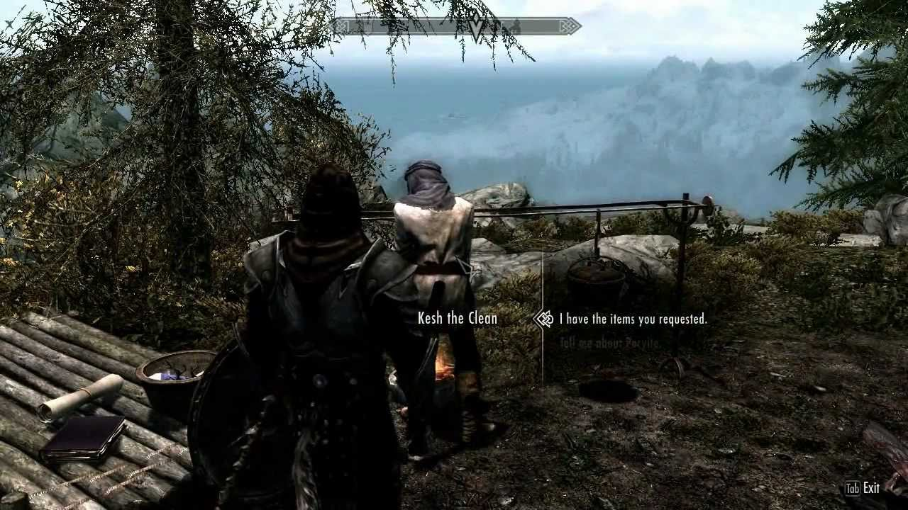 Skyrim The Only Cure Peryite S Quest Part 1 Youtube
