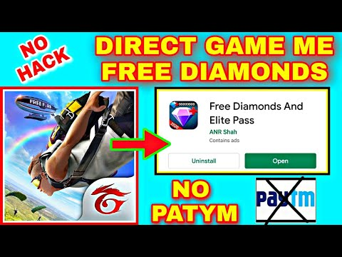 Direct Free Fire Game Me Diamonds Kaise Badhaye | New Trick To Get Free Diamonds In Free Fire