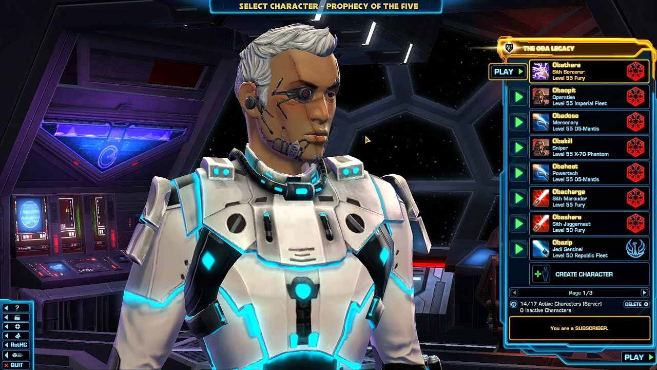 Swtor how many character slots free to play laugh to keep from crying full play free