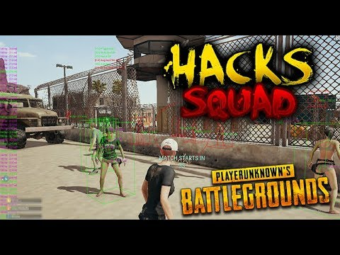 ¡SQUAD DE HACKERS! ¡SALE VOLANDO! DIOOS! AGGG!!| PLAYERUNKNOWN'S BATTLEGROUNDS (PUBG)