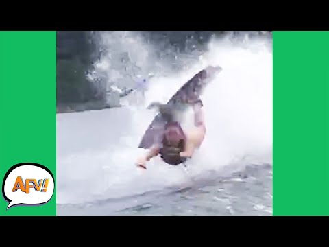 Another Wakeboarder Gone BUST! 😅🤣 | Best Funny Fails | AFV 2021