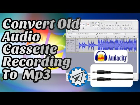 Convert Old Audio Cassette Recordings or Radio to PC as .mp3