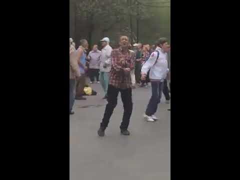 Танцы в Сокольниках 6 МАЯ 2018 года. Жара!!!