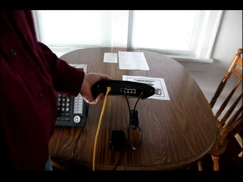 Remote Home Office IP Phone Installation