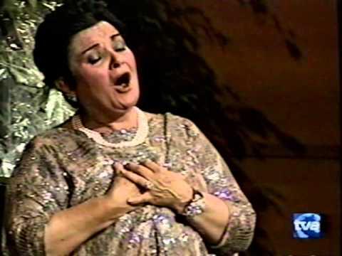 Recital Victoria de los Ángeles Gran Teatro del Liceu de Barcelona