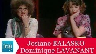 Josiane Balasko et Dominique Lavanant