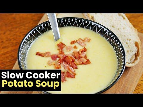 Creamy Slow Cooker Potato Soup