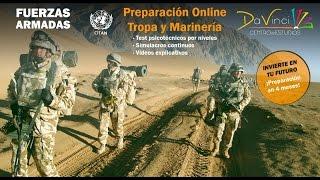 Preparación Psicotécnicos Tropa y Marinería (On-Line y Presencial)