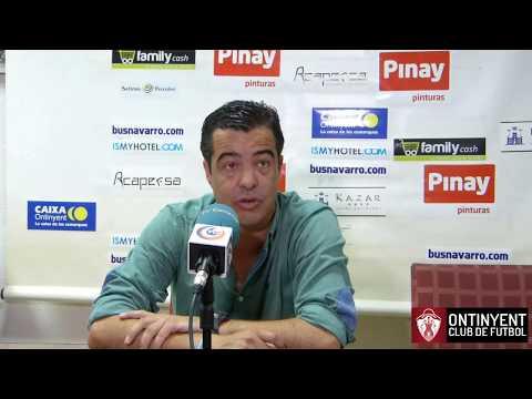 Roda de premsa de José Herrera: Ontinyent CF 1 - Arcos CF 2