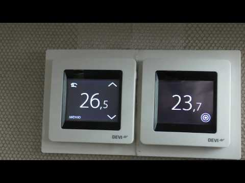 Не работает теплый пол с терморегулятором DEVIreg Touch