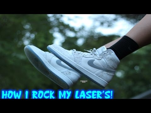 How I Rock My Laser 1's!