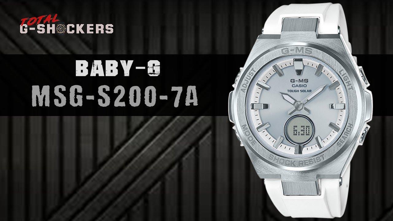 ebf1b2de56c4 Casio BABY-G MSG-S200-7A