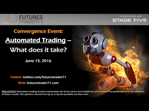 06-15-2016 Convergence Event-Automated Trading: What does it take