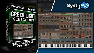 Green light sensations -  Synthcloud Library on TAL Sampler