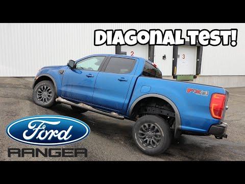Ford Ranger Fx4 Off-Road Diagonal Test | On Tarmac And A Bonus On Snow!