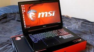 MSI Dominator G GT72 6QD Review 6700HQ G-Sync