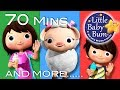 Mary Had A Little Lamb | Part 2 | Plus More Nursery Rhymes | 70 Mins Compilation By Littlebabybum! video