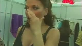Busty russian singer   backstage Ангина
