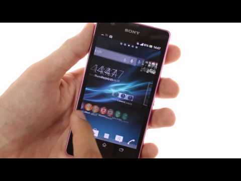 Sony Xperia ZR hands-on