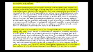 09 - Forelesning over tekst 11 (Weber)