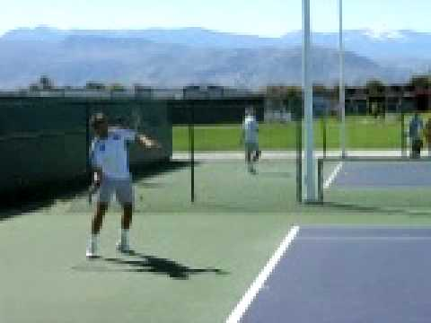 Ross Hutchins at Indian Wells