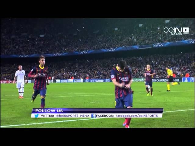 باريس سان جيرمان يستقبل برشلونة
