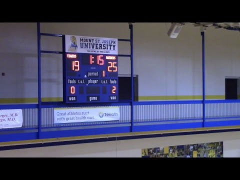 Rutgers-Newark vs. Wittenberg University - Men's Volleyball