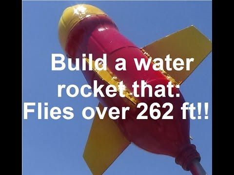 How To Build  : Ultimate Water Rocket !!