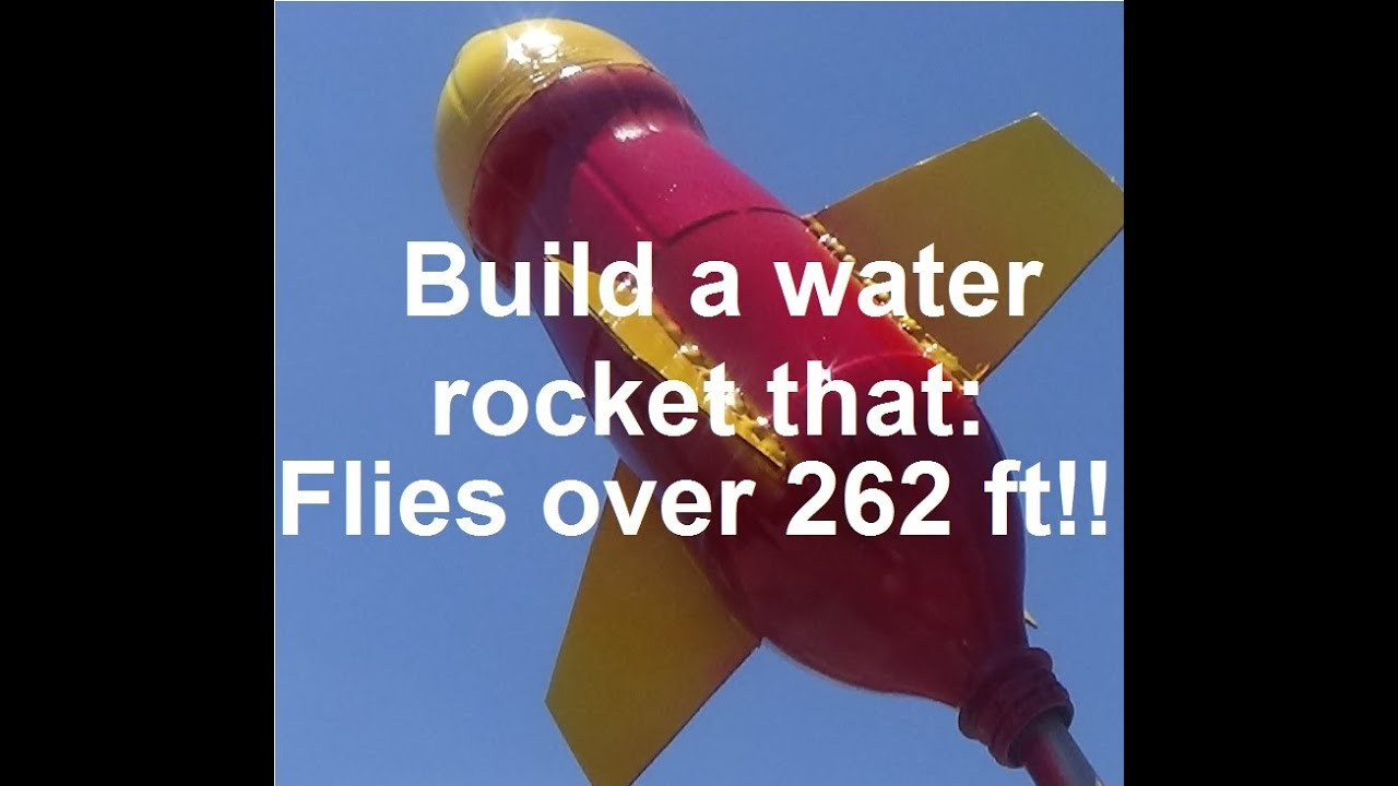 Water Bottle Rocket Designs: How To Build : Ultimate Water Rocket !!