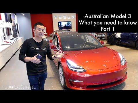 Tesla Model 3 Australia What You Need To Know Part 1   Ludicrous Feed   Tesla Tom