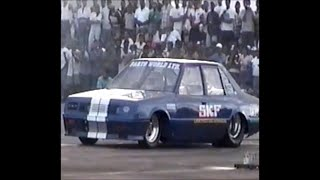 SKF Lancer racing  Mack Rampersad -  Ryan Garcia's first official' 9 second run in Wallerfield 1997