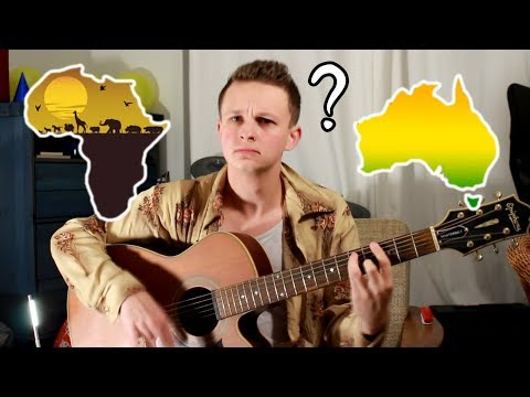 when you try playing toto - africa but its actually land down under