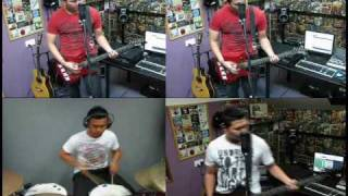 Isk, Hosni & Friends - Singapore National Day Song Medley (Punkrock Cover)