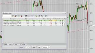 How to trade Gold using option spreads, selling options on futures vs gold coins