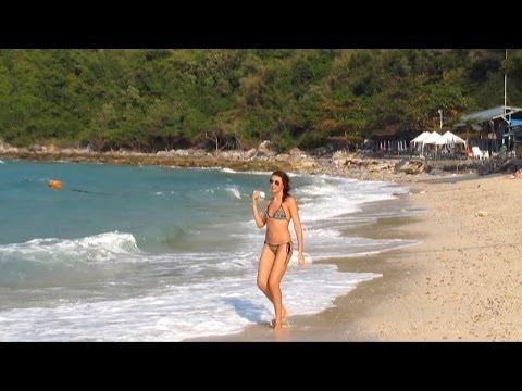 Pattaya Koh Larn. Thong Lang Beach. Thailand.  Остров Ко Лан.