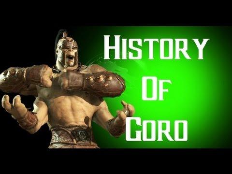 History Of Goro Mortal Kombat X