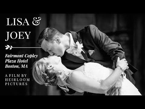 Lisa + Joey ~ Quintessential Boston Wedding at the Fairmont Copley Plaza Hotel