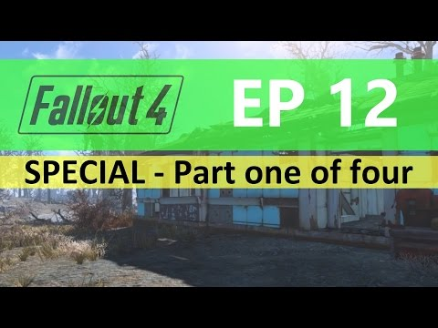 Fallout 4 : EP12 - Food facility FULL build - Part one of fo